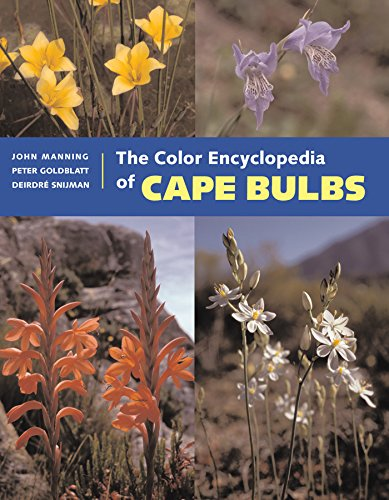 The Color Encyclopedia of Cape Bulbs by Timber Press