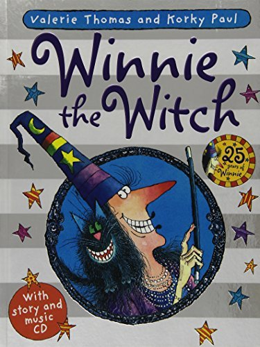 Winnie the Witch 25th Anniversary Edition (Paperback & CD) by Valerie Thomas (2012-07-12)