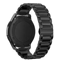 MroTech 22mm Cinturino in Acciaio per Gear S3, Galaxy Watch 46mm e più