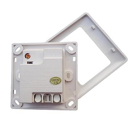 D DOLITY Interruptor infrarrojo de Sensor de Movimiento PIR Control de Luz de Ahorro de Energía