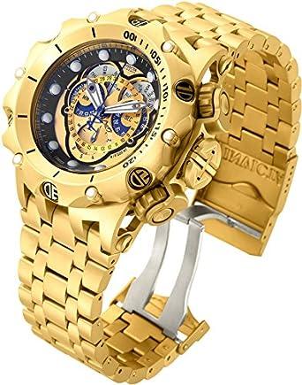 cf4923e841c Invicta 16804 Men s Venom Hybrid Chronograph Reserve Stainless Steel Watch   Invicta  Amazon.co.uk  Watches