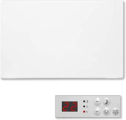 FUTURA 1000W Electric Panel Electric Heater Bathroom Safe Setback Timer Lot 20 & Advanced Thermostat Control Wall Mounted or Floor Standing Low Energy Electric Heater: Amazon.co.uk: Kitchen & Home