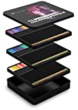 Arts & Crafts : Castle Art Supplies 72 Colored Pencils Set for Adult Coloring Books - New and Improved Premium Artist Soft Series Lead with Vibrant Colors