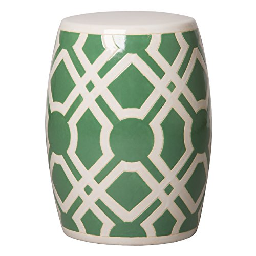 Emissary Home & Garden Labyrinth Stool Meadow Green ()