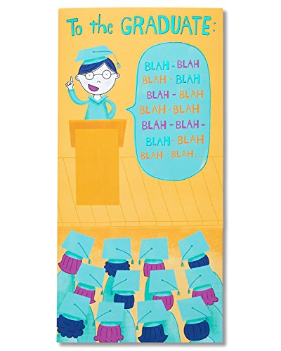 Greetings Money Holder - American Greetings Money and Gift Card Holder Graduation Card with Sound