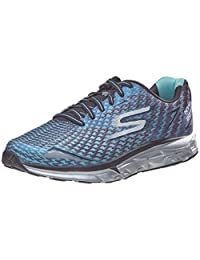 SKECHERS Go Run Forza - NYC 16 Black/Blue Men's Running Shoes