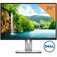 Dell 24 UltraSharp Widescreen LED-Backlit 1920x1200 Resolution Monitor, 16:10 Aspect Ratio, 6ms Response Time, 178 Degree Vertical & horizontal viewing angles, HDMI, USB 3.0 ports