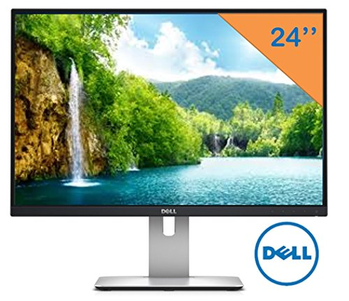 "Dell 24"" UltraSharp Widescreen LED-Backlit 1920x1200 Resolut"