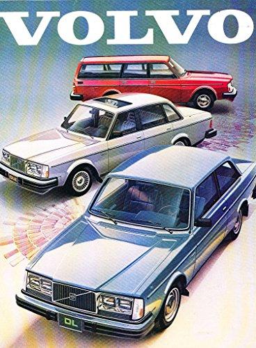 1981 Volvo 24-page Car Sales Brochure Catalog - Bertone Coupe 262C GLT -