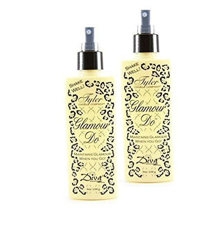 Diva Glamour Do Tyler Candle Spray (4 Oz), 2 pack by Tyler