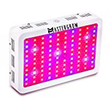 MasterGrow 1000W,Led Grow Light, Double Chips, Full Spectrum,Greenhouse Grow Tent Plants Vegetables and Flowering Growing(10wX100pcs) Review