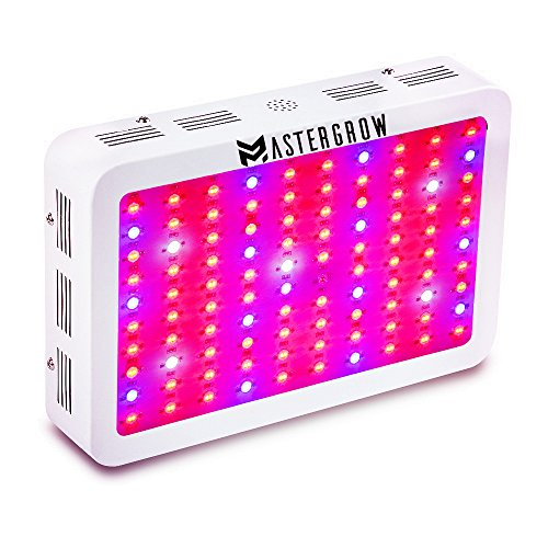 review mastergrow 1000w double chips led grow light full grow