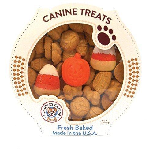 Claudia's Canine Bakery Gourmet Halloween Theme Dog Treats (Tricks for -