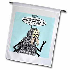 Rico diesslins Out To Lunch dibujos animados–Otl–una más probable, de picada de una araña radiactiva–banderas