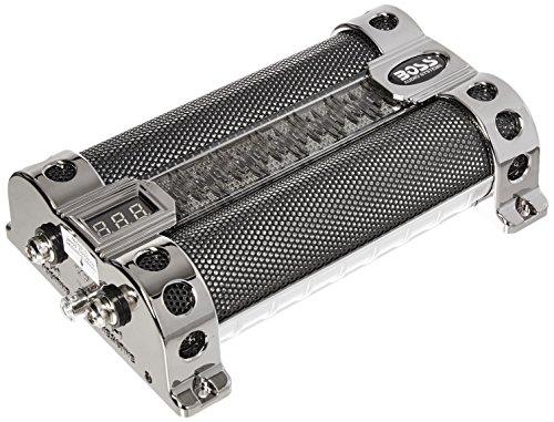 BOSS AUDIO CAP8 8 Farad Capacitor (Audio Car Capacitor)