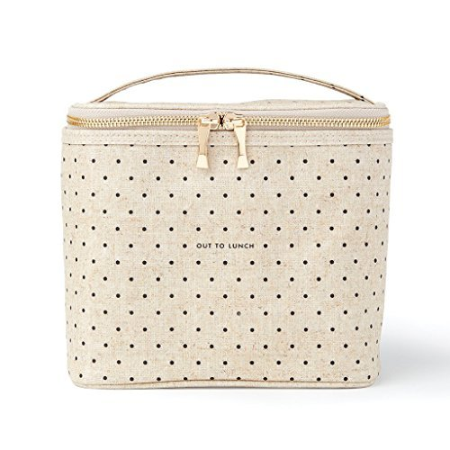 Kate Spade New York Lunch Tote, Deco Dots Out To Lunch, , Canvas