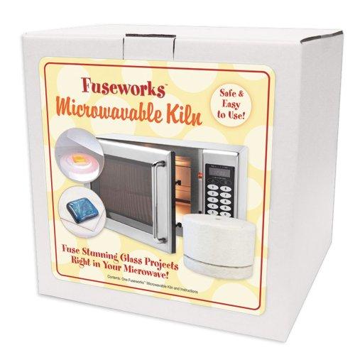Pottery Kilns - Fuseworks FW849 Beginner's Microwave Kiln