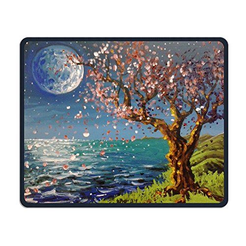 Seaside Cherry Blossoms Smooth Nice Personality Design Mobile Gaming Mouse Pad Work Mouse Pad Office - Creek Mall Cherry