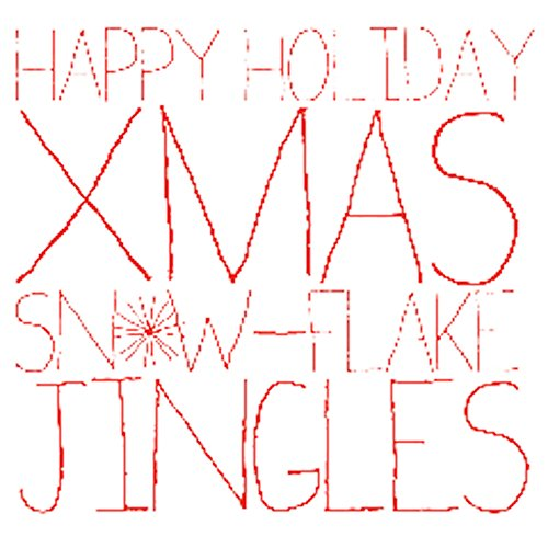 Happy Holiday Christmas Snowflake Jingles