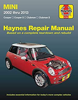 Amazoncom Bentley Paper Repair Manual Mini Cooper R55r56r57