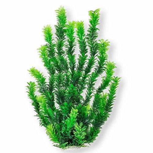 Vitality Aquarium Decorative Plant, 30-Inch, Dark Green by Vitality