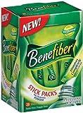 Benefiber Drink Mix, Taste Free, 28 Stick Packs (Pack of 2)