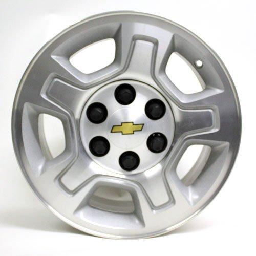 17 INCH 2007 2008 2009 2010 CHEVY SILVERADO 1500 TRUCK TAHOE SUBURBAN AVALANCHE OEM WHEEL RIM 5295 (Chevy Suburban Wheels)
