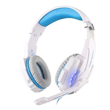 KOTION CADA 3.5 mm G9000 Juego Juegos Auricular Headset auriculares diadema con micrófono luz LED para