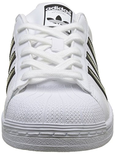 J Bianco Scarpe Adidas Da Unisex White Black core footwear – Bambini Basse Superstar 0 White Ginnastica footwear E55qz