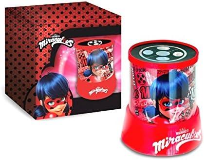 Lámpara proyector LED 3d Miraculous Ladybug Juegos Niña Abejorro ...