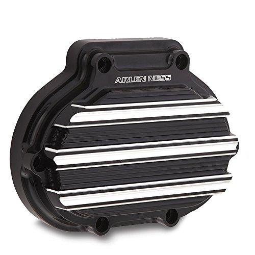 Arlen Ness 03-813 Black 10 Gauge Transmission Side Cover -