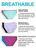 Fruit of the Loom Women's Underwear Breathable