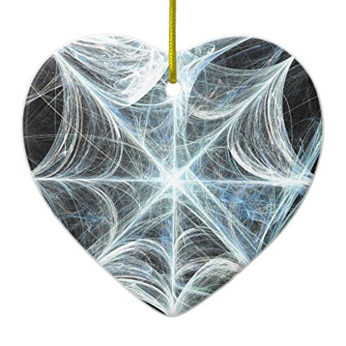 Ornament Decorations Spiderweb Heart Christmas Tree Gift Idea