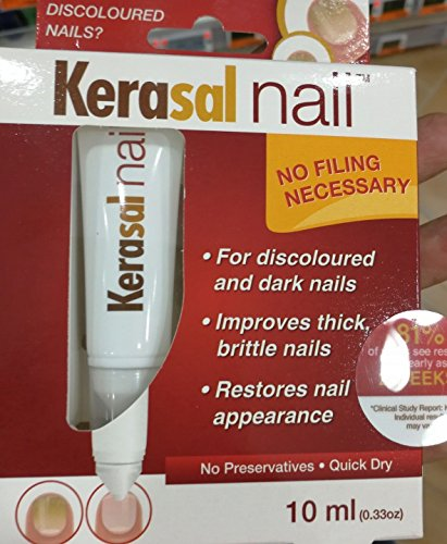 SG# KESANAIL Fungal Nail Treatment 10ml,improved appearance in only 2 weeks by MENARINI