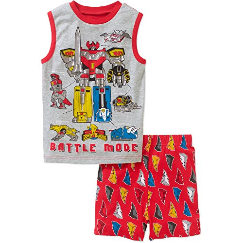Power Rangers Battle Mode Boys Shorts Pajama Set