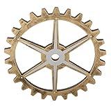 MonkeyJack 29cm Vintage Steampunk Gear Wheel for Home Bar Art Craft Wall Decoration