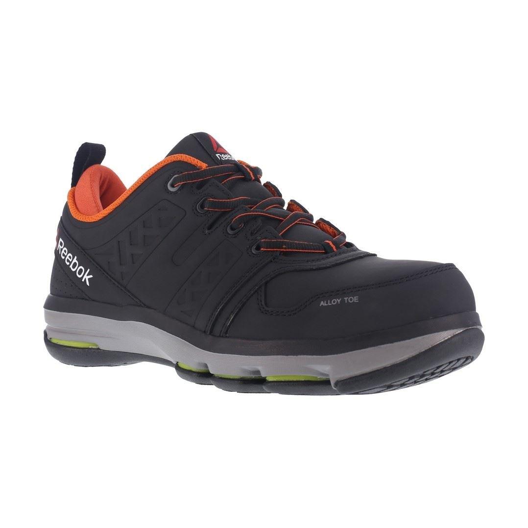 Reebok Work Men's Dmx Flex Work RB3602 Industrial and Construction Shoe, Black, 10.5 W US