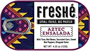 Freshé Gourmet Canned Tuna (Aztec Ensalada, 10 pack of 4.25 oz. tin) Premium Sustainably Caught Canned Tuna that Makes a Per