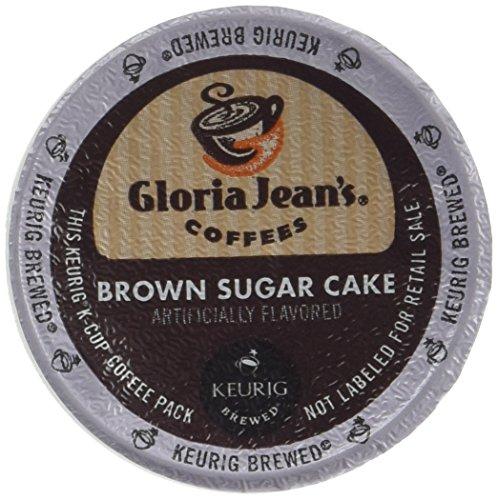 Gloria Jeans Brown Sugar Cake Coffee Keurig K-Cups, 18 Count