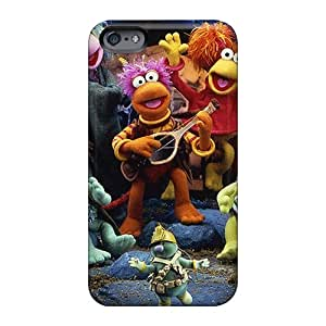 Scratch Protection Hard Phone Cases For Apple Iphone 6 With Support Your Personal Customized Nice Fraggle Rock Pictures Finleymobile77