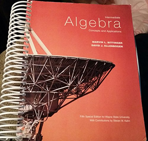 Title: INTERMEDIATE ALGEBRA-W/2 CDS >