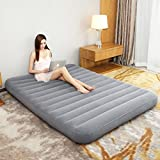 Air Mattress Inflatable bed thicken portable ultra light fold siesta camping-A