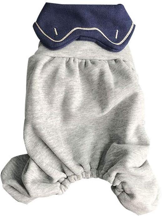 LZRDZSW Camisa del Perro Adorable algodón Suave de Perrito, otoño e Invierno Caliente del Perrito Gatito