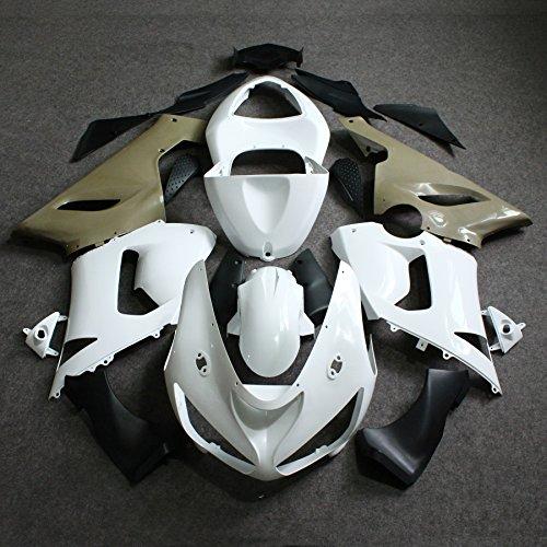 ZXMOTO Unpainted Fairing Kit for Kawasaki Ninja ZX-6R 636 (2005-2006)