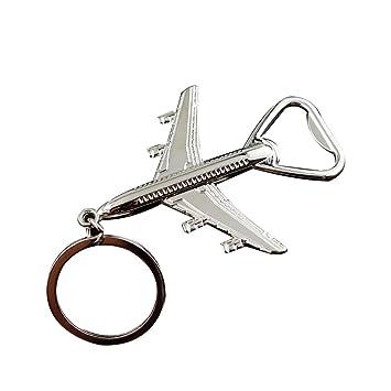 YUnnuopromi - Llavero con Colgante de avión, diseño de avión ...
