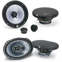 Jl Audio TR690 TXI 6x9 3 WAY Car Speakers W/ JL Audio TR650-CSi 6-1/2 Evolution TR Series 2-way Component Speakers System (Pair)