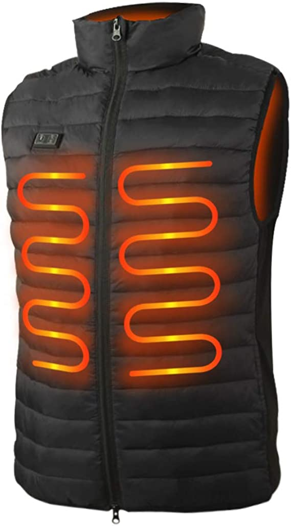 Lightweight Vest for Hunting//Hiking Details about  / Men's Heated Vest with Battery Pack