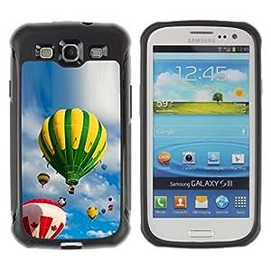 "Hypernova Defender Series TPU protection Cas Case Coque pour Samsung Galaxy S3 III I9300 [Cielo y globos""]"
