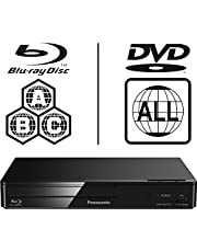 Panasonic DMP-BDT167EB-K Smart 3D ICOS Multi Region All Zone Code Free Blu-ray Player. Blu-ray zones A, B and C, DVD regions 1-8. YouTube, Netflix etc. HDMI output. HDD Playback