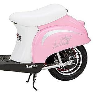 Razor Pocket Mod Miniature Euro 24V Electric Retro Scooter, Pink | 15130610